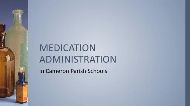 Medication Adminstration