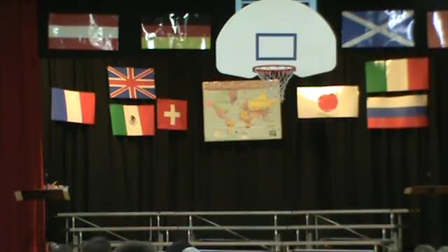 3rd Grade Cultural Concert- Songs from around the world.