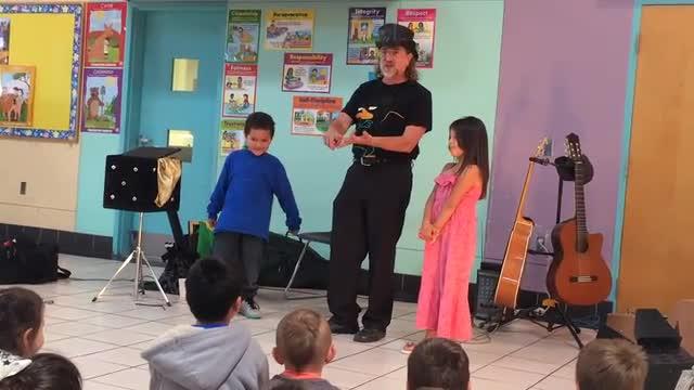 Magician visit to ECEC