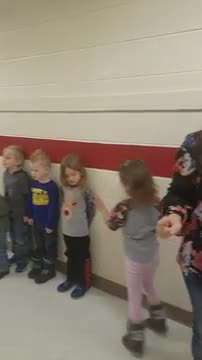 Video of PreK Turkey Pokey