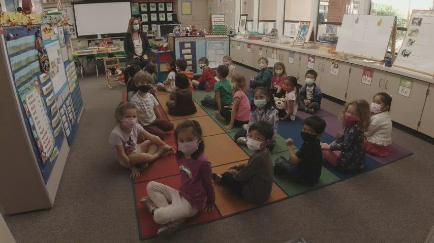 Start-of-Day Activities and Calendar Time in Mrs. Crouch's Kindergarten Class.