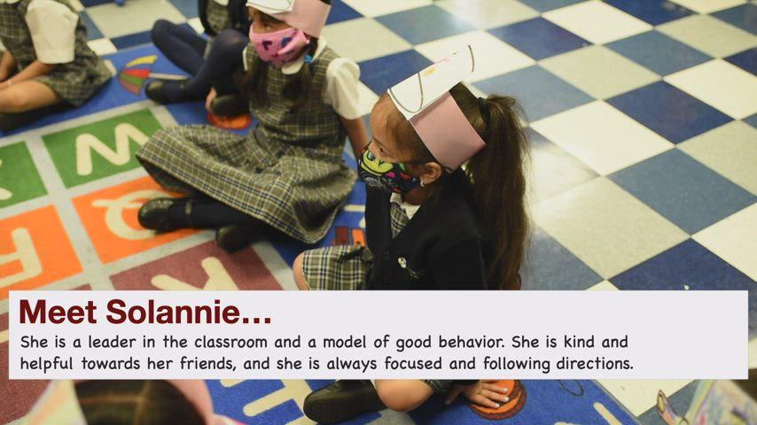 SJP Kindergarten Spotlight - Solanie