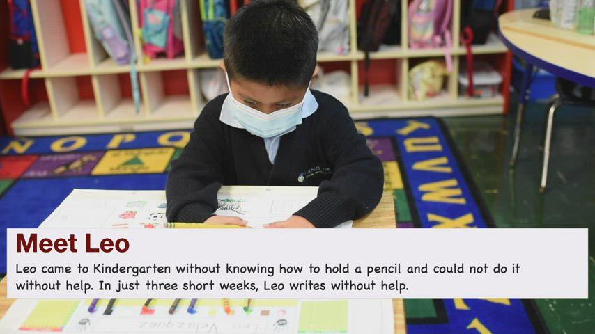 SJP Kindergarten Spotlight - Leo