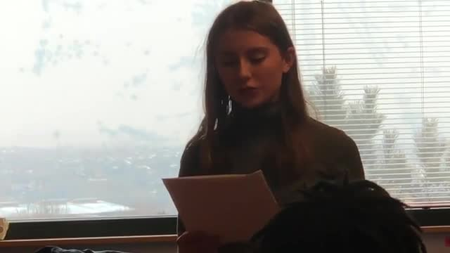 Video of Olivia Farrar submission for Voice of Democracy Scholarship Competition