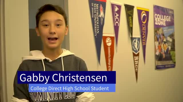 College Direct Student Testimonial--Gabby