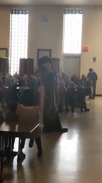 Chippy Chipmunk dancing