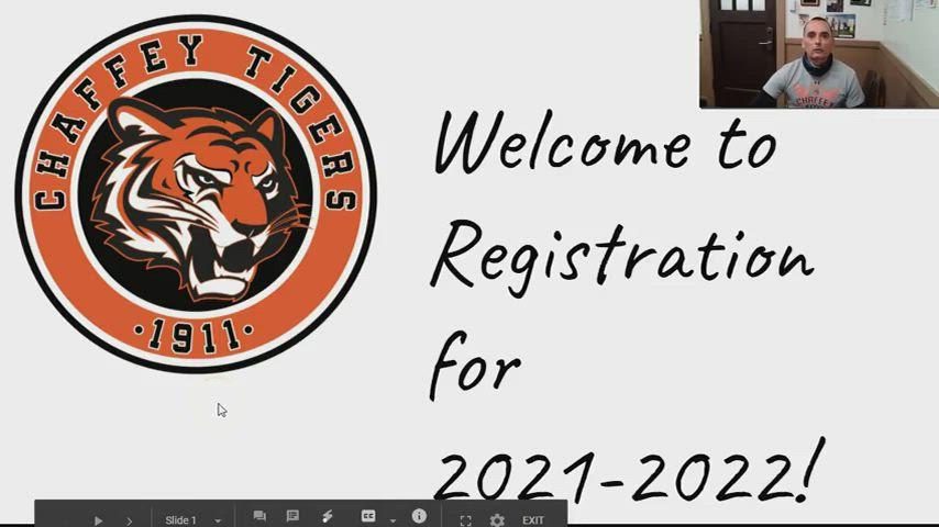 Junior Registration Video