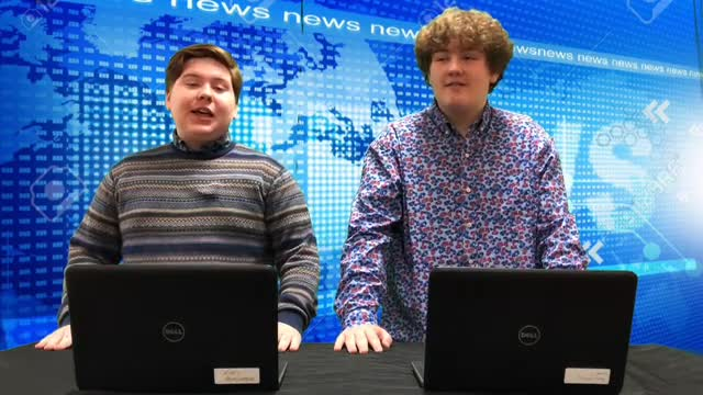 SMS Students have created a news broadcast about things happening in our school.