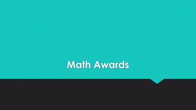 6th Grade Class Awards