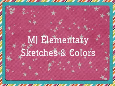 Monmouth Junction Elementary Sketches and Colors Display