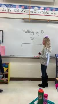 3rd Grade - Multiply by 10