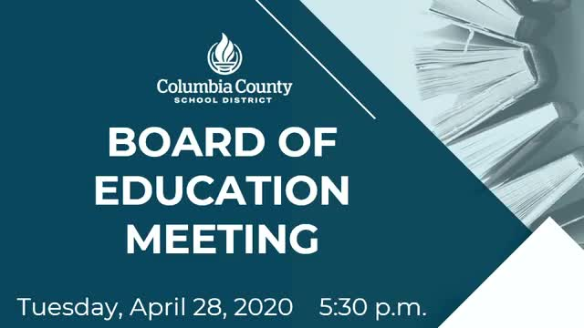 CCBOE April 28 board meeting
