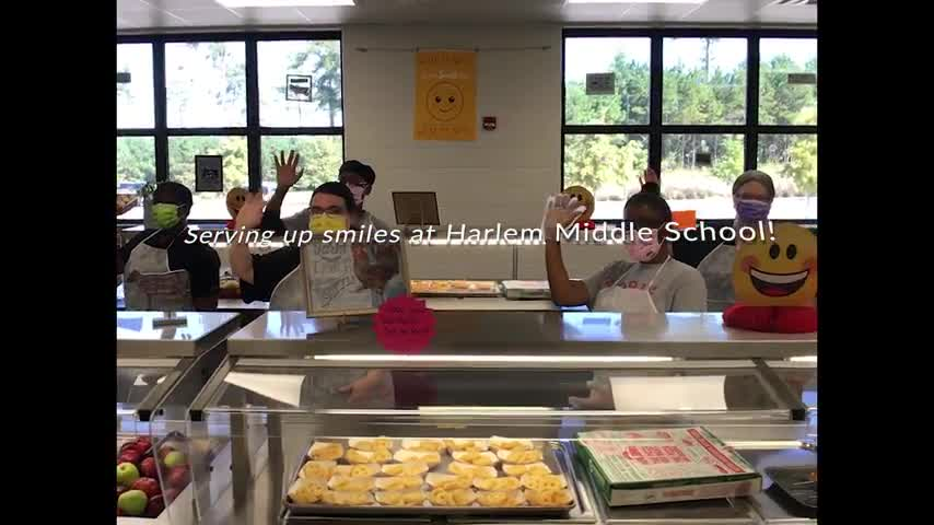 World Smile Day 2020 at Harlem Middle School