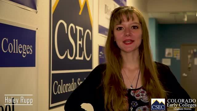 CSEC Student Story - Hayley Rupp