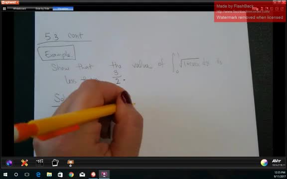 5.3 Part 2 The Definite Integral
