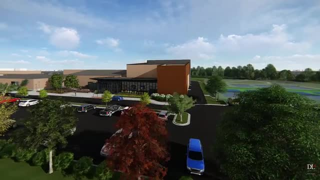 Rendering of New Theater at Richards High School (1/19/2017)