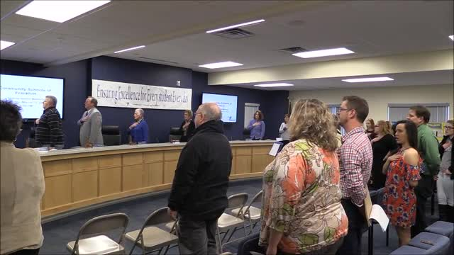 Video for School Board Meeting March 2018