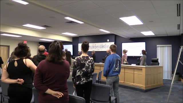 Video for School Board Meeting March 2016