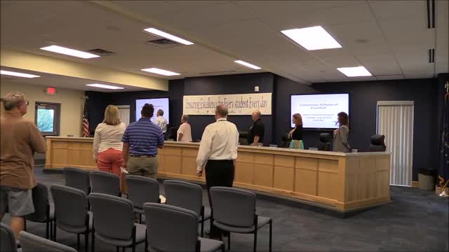 Video for School Board Meeting August 2016