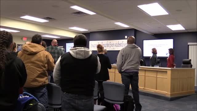 Video for School Board Meeting December 2016