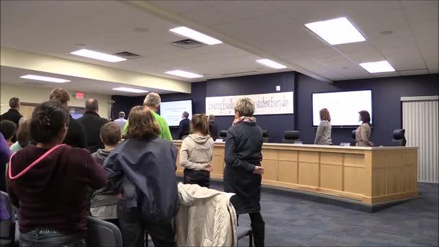 January 2017 School Board Video