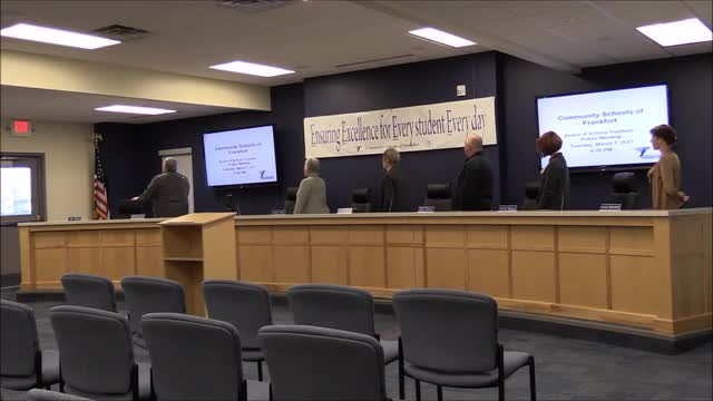 March 2017 School Board Meeting (Superintendent's Contract)