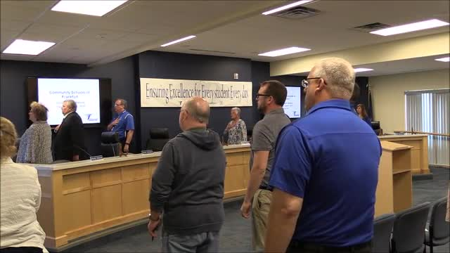 School Board Meeting June 2019