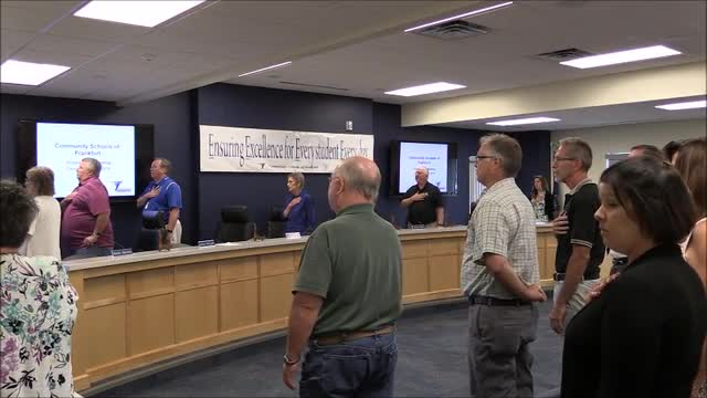 School Board Meeting July 2019