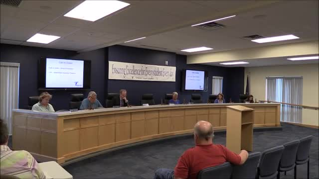 School Board Meeting September 2019 - Regular Meeting