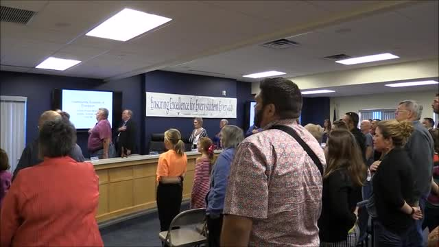 School Board Meeting October 2019