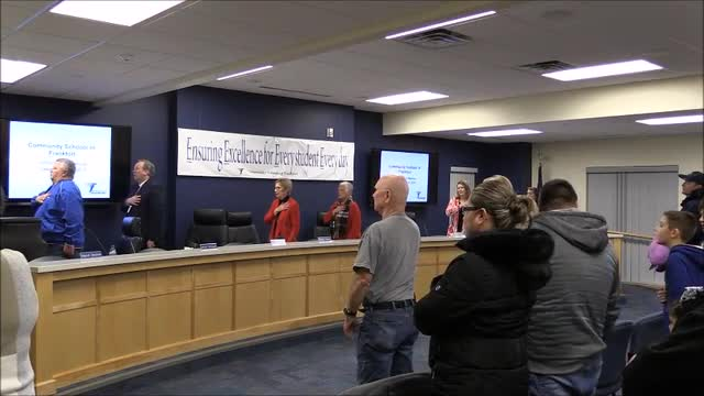 School Board Meeting December 2019