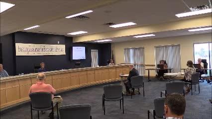 School Board Meeting Sept. 8, 2020 (2021 Budget Hearing)
