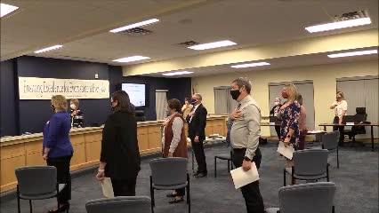 School Board Meeting November 10, 2020