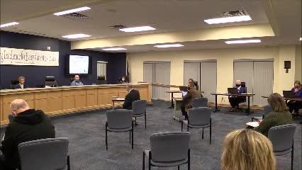 School Board Meeting January 12, 2021