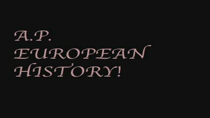 AP European History - European Unions Throughout History