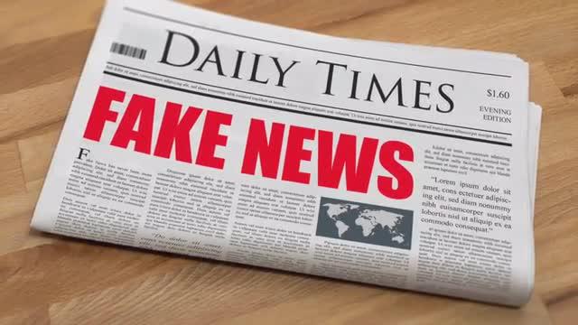 CVN 2018 2019 Fake News