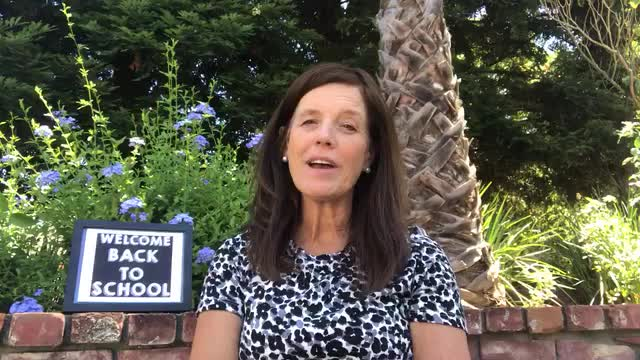 video message from Principal Pfefferlen on the first day of the 2020/21 school year