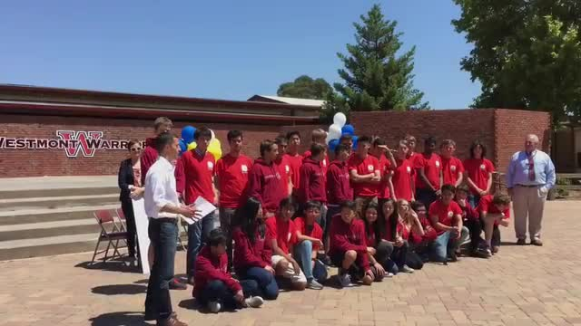 Westmont High Student Receives $100,000 Scholarship video
