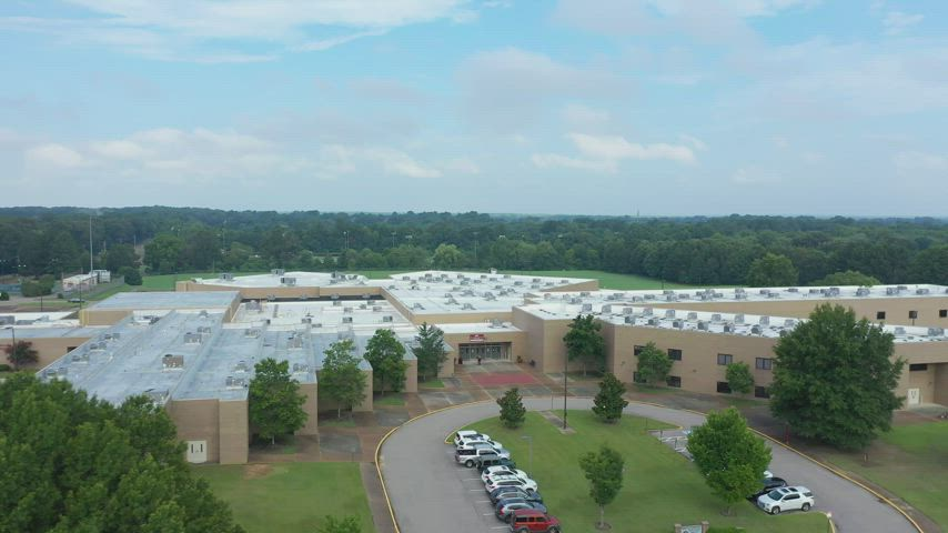 West Collierville Middle School- Drone Footage