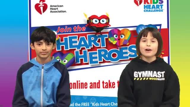 Kids Heart Challenge -Family Challenge
