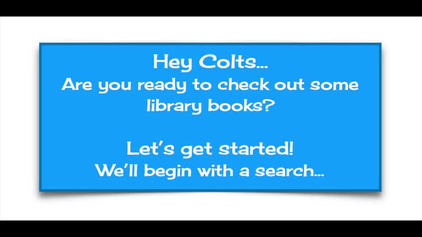 An video with a basic introduction to searching the library catalog.