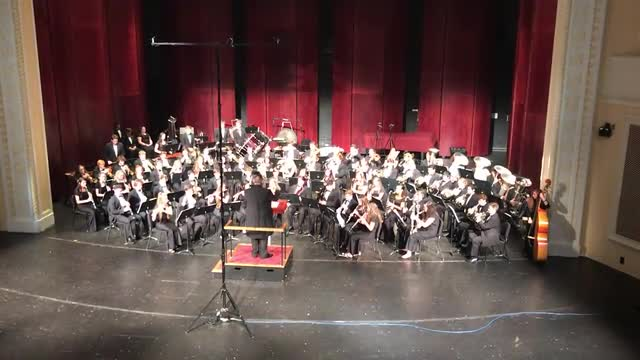 Video of the UNCG Symphonic Band and Central Davidson High School Wind Ensemble concert Oct. 4, 2018