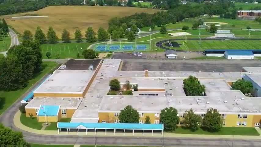 Drone Video of School