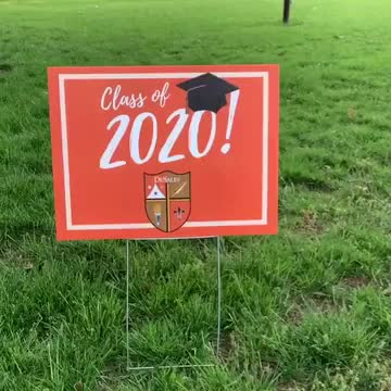 DeSales Graduation Caravan Celebrates Seniors