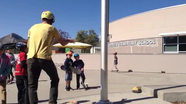 Skateboard club video