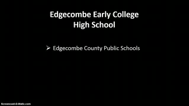 Early College Overview Video