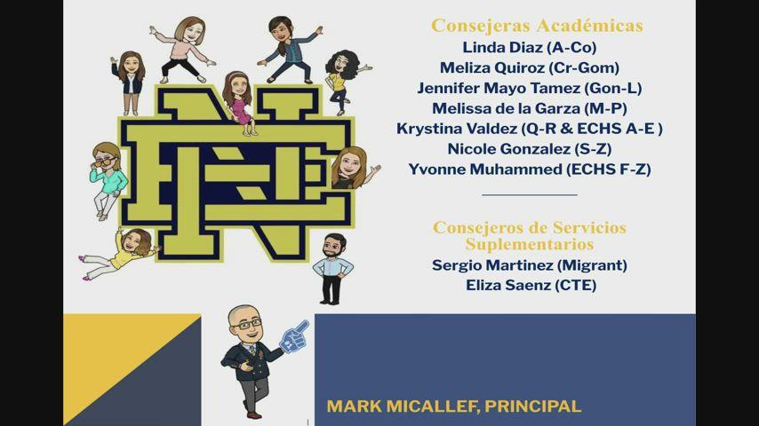 2021 2022 Spanish ENHS 9th Grade Orientation