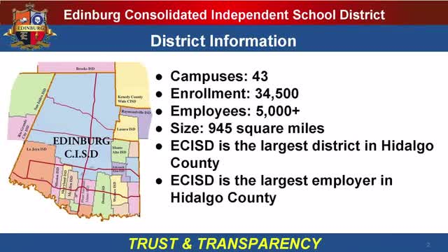 2019 ECISD Bond Information video