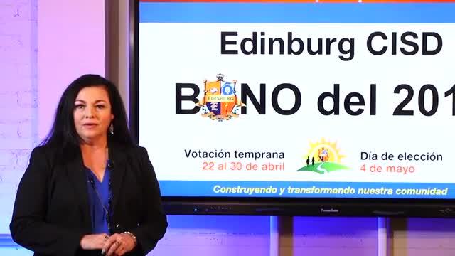 Información sobre el Bono 2019 del distrito escolar de Edinburg