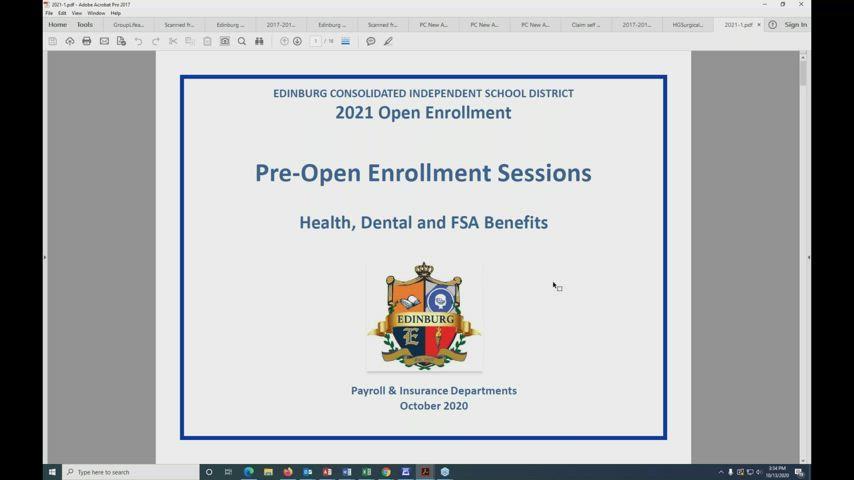 ECISD Pre Open Enrollment ECISD